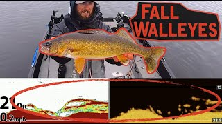EASY Way to Catch Fall Walleyes!