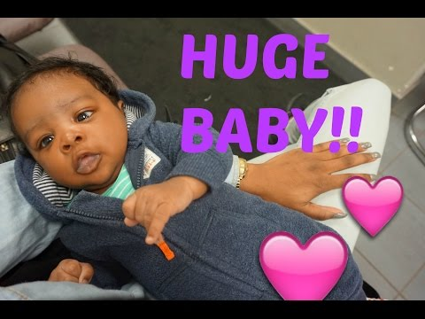 VLOG 4 HUGE BABY!!!