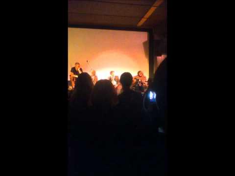 Snuff Box Theme (Acoustic) - Matt Berry live @ The Cinefamily LA 10/2/11