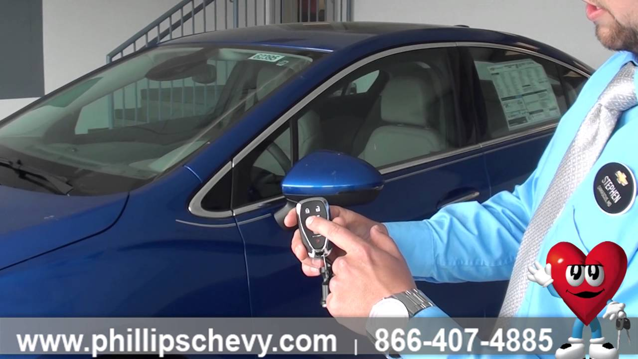 Phillips Chevrolet 2016 Chevy Cruze Remote Start Chicago New
