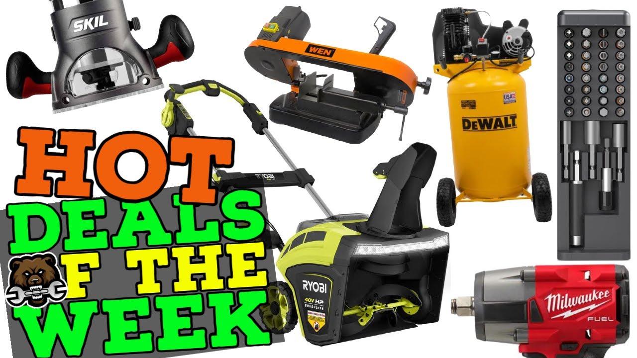 Hot Tool Deals of the Week! 10/18/21 (Black Friday? More like Black OctVember!!!