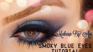 Smoky eyes using blue colors Urban Decay Vice3 Makeup By Ani Thumbnail