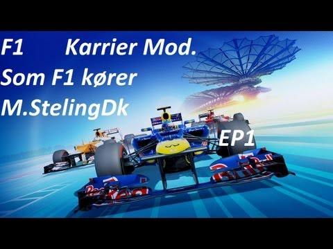 F1 2012 Let´s Play M.StelingDk Ep1-Karrier mod[Dansk-Danish] Så starter vi
