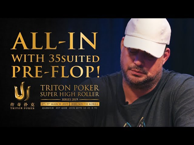 USD$ 750k pot! The Infamous 3♥5♥ Suited Pre-Flop All-In