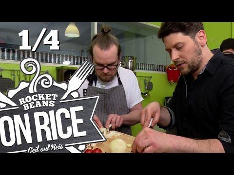 [1/4] Chili Con Carne Challenge: Simon & Etienne vs Gino & Nasti   Rocket Beans On Rice   06.04.2016