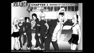 �������� ���� konoha high school chapter 1.2 sakura and sasori and deidara ������