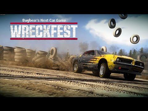 ncg wreckfest pc dirt track 8 track races youtube. Black Bedroom Furniture Sets. Home Design Ideas