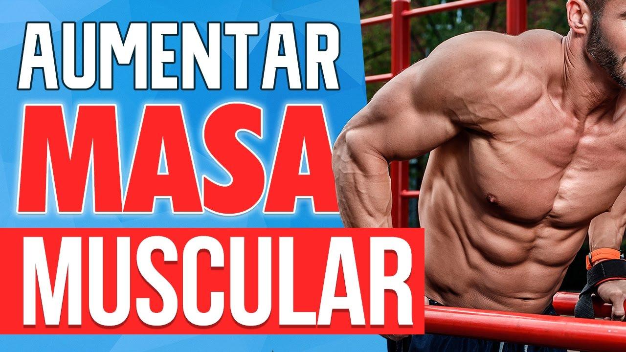 como aumentar masa muscular gimnasio