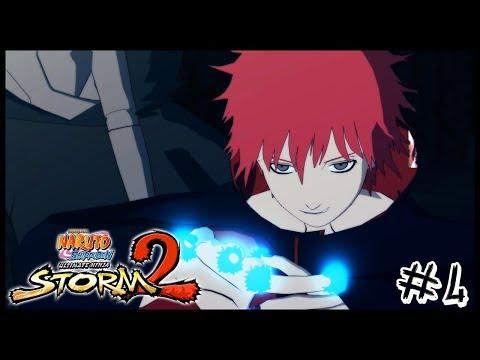 SASORI DA AREIA VERMELHA - Naruto Ultimate Ninja Storm 2 [Modo História] #4