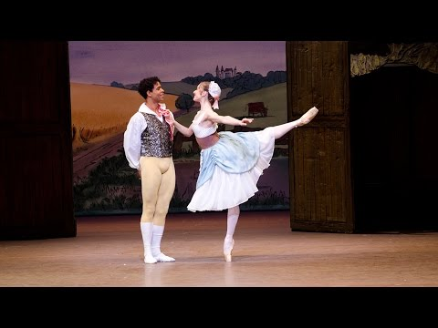 La fille mal gardée - Pas de ruban from Act I (The Royal Ballet)