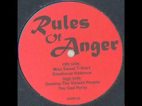 Rules Of Anger - Emotional Violence