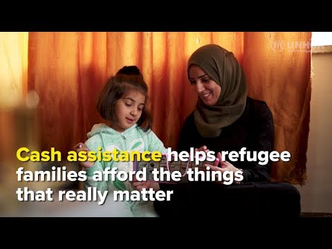 Cash assistance empowers choices, helping Syrian refugees heal