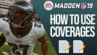 Madden 19 Defensive Coverages 101 - How To Play Defense!