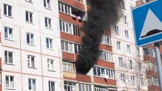 Пожар в доме, Пермь, Парковый проспект, 10.04.2017