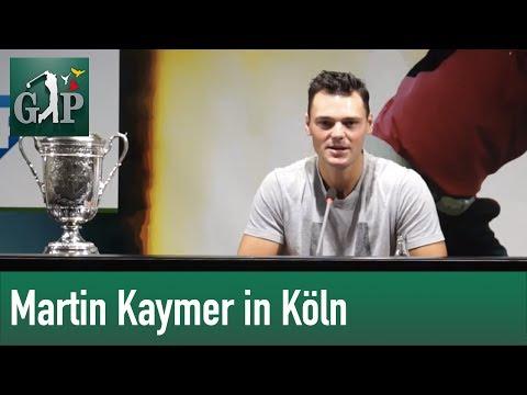 Martin Kaymer über seinen Weg zum US-Open-Sieg und den Ryder Cup 2014 - Pressekonferenz