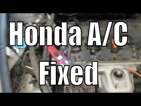 """A/C cutting out intermittently Honda Civic """"Easy Test"""""""