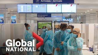 Global National: Feb. 22, 2021 | Canada's new hotel quarantine rules begin, lead to frustration
