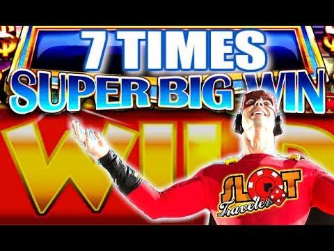 7 CASINO WINS! Slot Traveler Get's Surprised! - 동영상