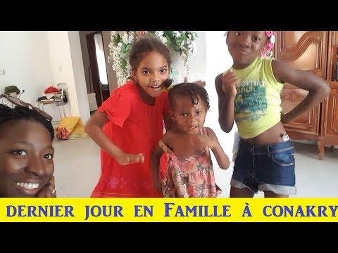 Vlog Guinée 8 // Ma dernière journée avec ma famille à Conakry//