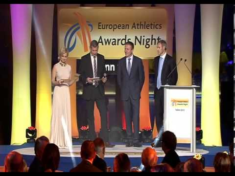 European Athletics Awards Night Tallinn 2013