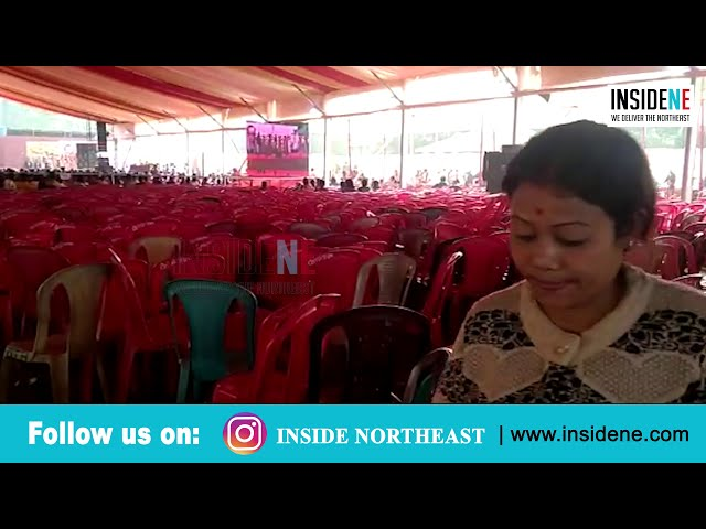 WATCH: Assam CM Sonowal addresses empty chairs at meet