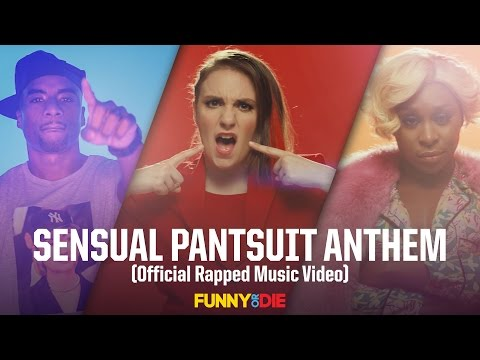 SENSUAL PANTSUIT ANTHEM (Official Rapped Music Video)