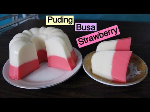 Puding Busa Strawberry