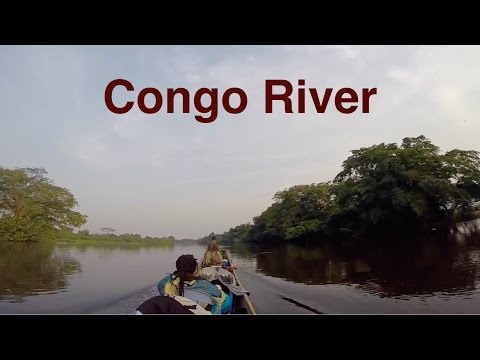 Canoe trip on the Congo river