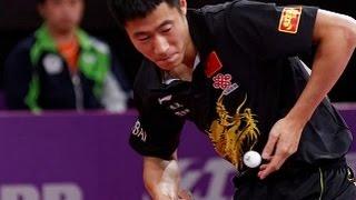 Wang Liqin - Spectacular Forehand  (Legendary Champion)