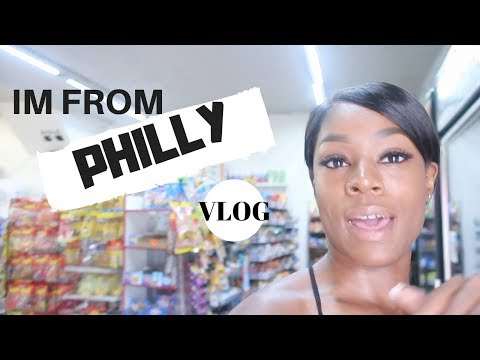 IM FROM PHILLY VLOG! TOUR OF WHERE IM FROM & MY NEIGHBORHOOD