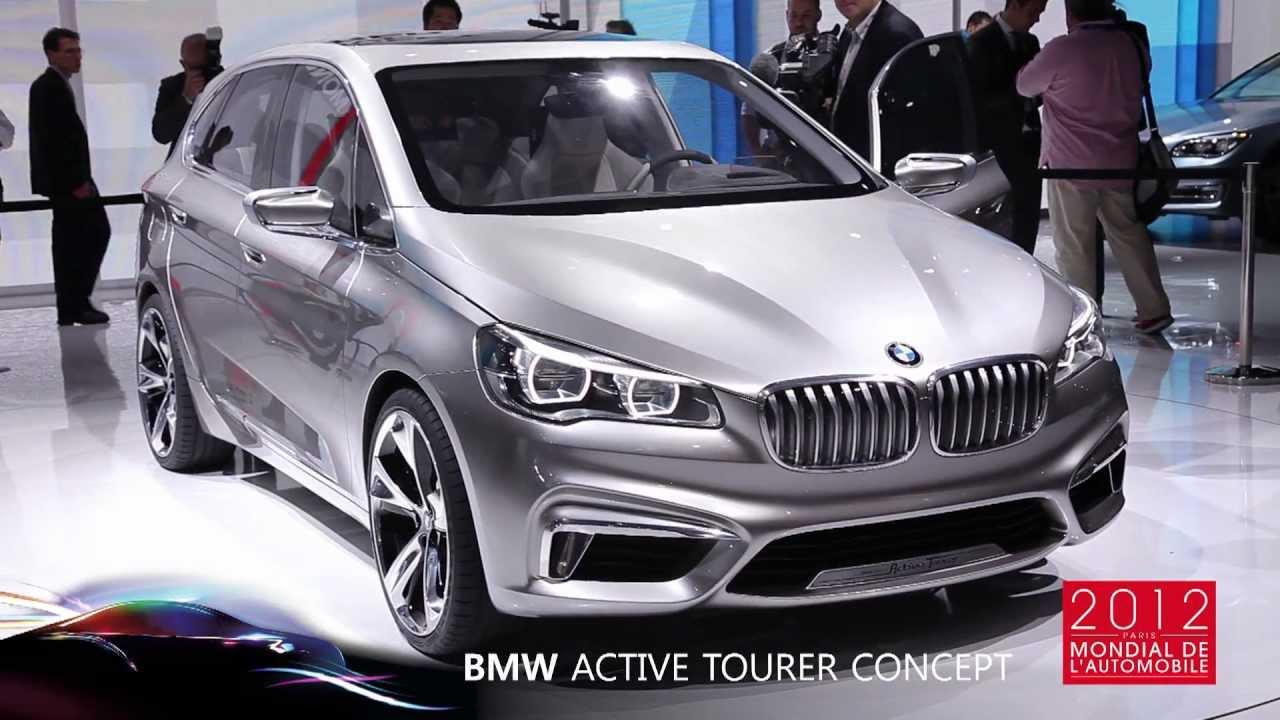 BMW Active Tourer Concept - Mondial de Paris 2012 - YouTube