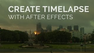 إنشاء Timelapse تسلسل في الآثار بعد