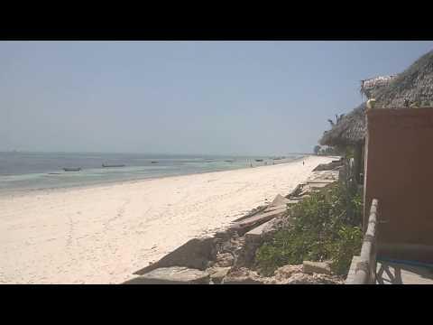 Jambiani beach, low tide. Zanzibar