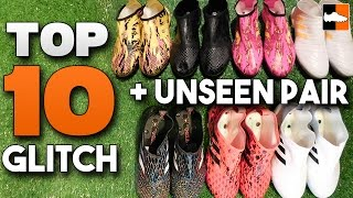 Top 10 glitch boots! best adidas glitchskin soccer cleats!
