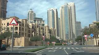 Drive Business Bay to Dubai Mall