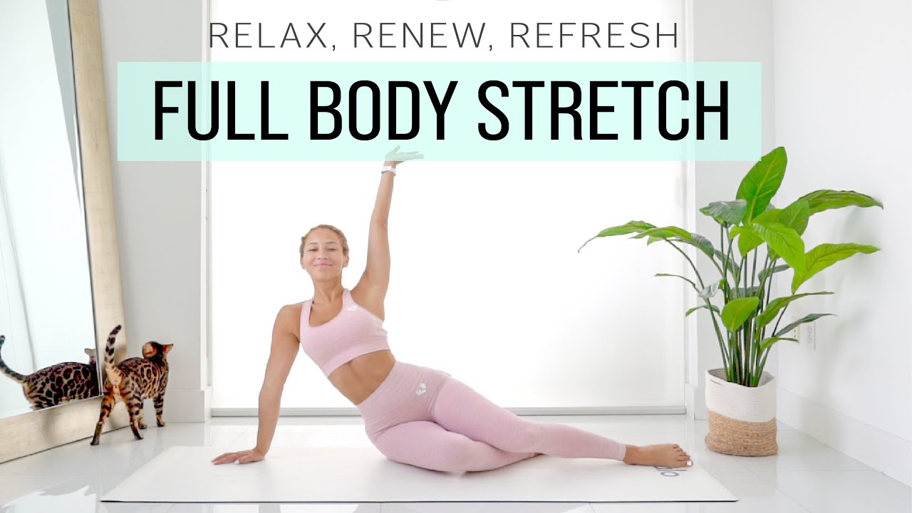 FULL BODY STRETCH for sore muscles & stiff joints 🌞