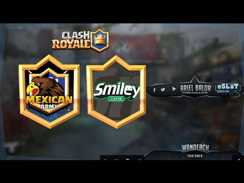 Clash Royale | Duelo de clanes | Latin Smiley Vs Mexican Army