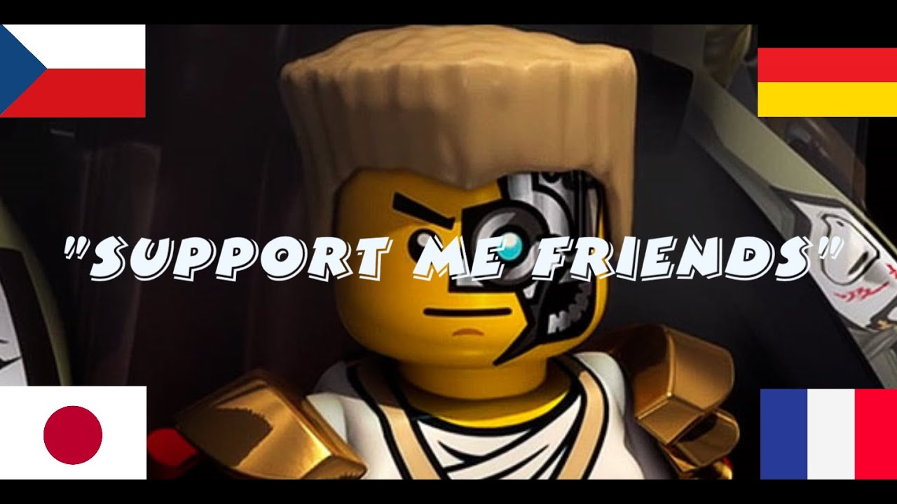 """""""Support Me Friends"""" Different Languages"""