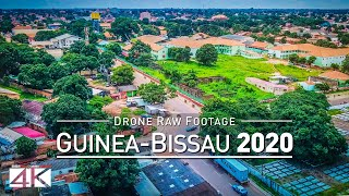 【4K】Drone RAW Footage | This is GUINEA-BISSAU 2020...