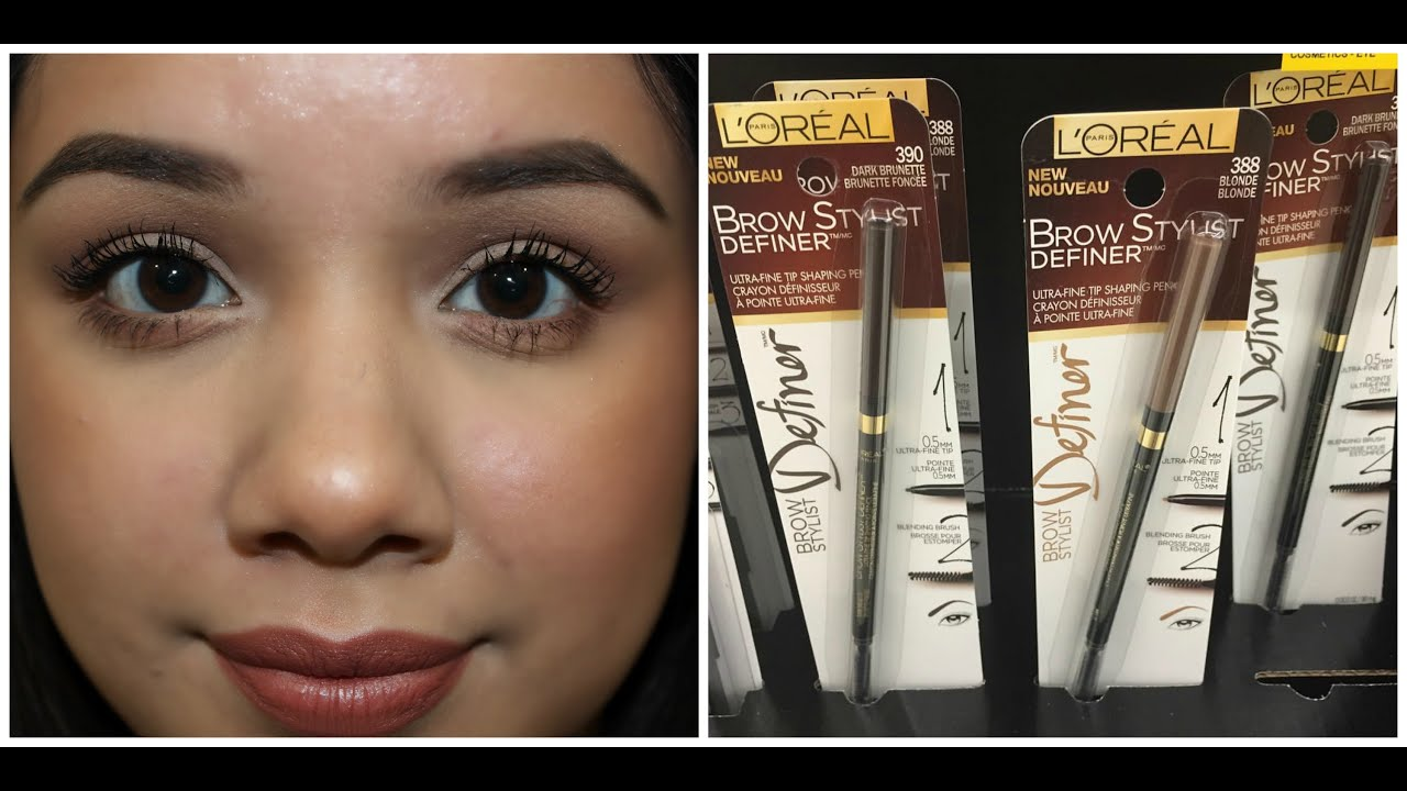 Loreal Brow Stylist Frame And Set Light Brunette The Eyebrow Lamp039oreal Infallible Total Cover Foundation L Oreal Review Lajulak Org