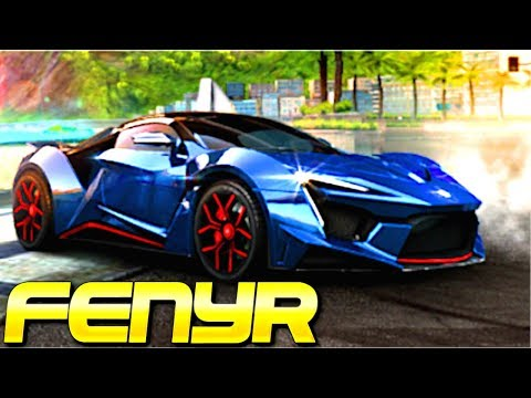 MAGNIFICENT BUT MEDIOCRE! Fenyr Supersport (Rank 1724) Multiplayer in Asphalt 8