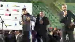 Прямая трансляция: Хабиб Нурмагомедов и Конор Макгрегор после боя UFC 229