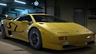 Lamborghini Diablo SV 1995 - Need For Speed 2016 - Test Drive Gameplay (PC HD) [1080p60FPS]