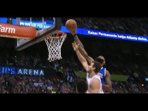 Kyle O'Quinn Late Hustle Block Against the Hawks | 12.28.16