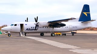 Flying In The New Er  Fokker Friendship Over The Australian Outback! Alliance Airlines Fokker 50!