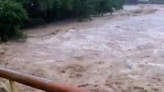 Тайфун Лайонрок мост на 2 Советский рудник