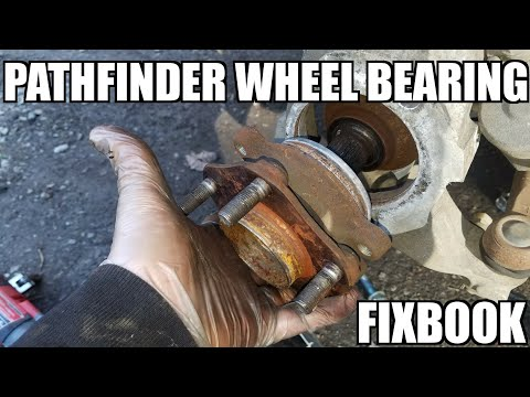"Front Wheel Bearing Hub 05-18 Nissan Pathfinder Replacement ""How to"""