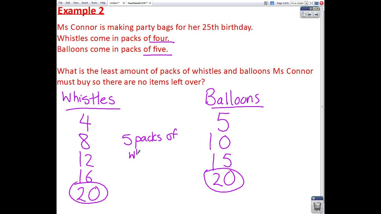 Worksheet Lcm Question lcm exam questions mathscast youtube mathscast