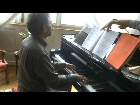 Transcription: BILL EVANS,  Alfie au piano
