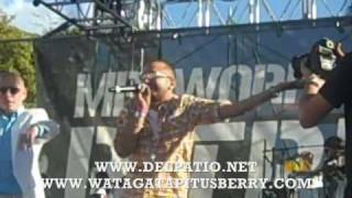 Watagatapitusberry En Vivo!!! Sensato Del Patio & Pitbull @ Calle Ocho Miami (Bookings:914-497-2591)